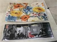 2 posters- Marilyn/Elvis, and flowers
