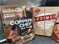 4 Cookbooks- hardback