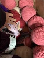 Large lot of very nice yarn