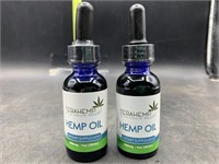 2 Terahemp 500mg hemp oil