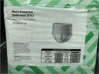 XXL men's protective underwear - maximum