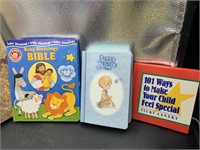 Bibles, kids books, and more
