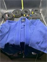 Martial arts belts and top
