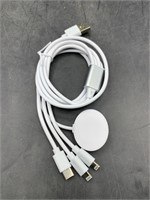 New 3 in 1 phone charger - iwatch, iPhone, c-type