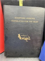 Sign language books - scripture lessons for the