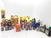 Automotive Fluids, Cleaners and Oils