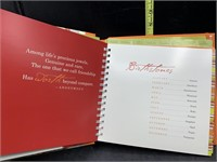 A special day to remember journal/card organizer