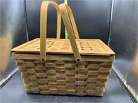 Picnic basket and contents