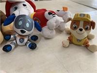 Paw patrol stuffed babies