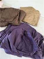 Bedding sets - purple set is king size