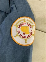 3 ST Clair county sheriff dept. shirts