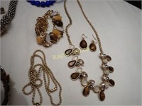 Costume Necklaces & Earrings