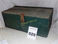Antique Toolbox, Wooden