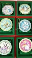 P. Buckley Moss ornaments The Twelve Days of
