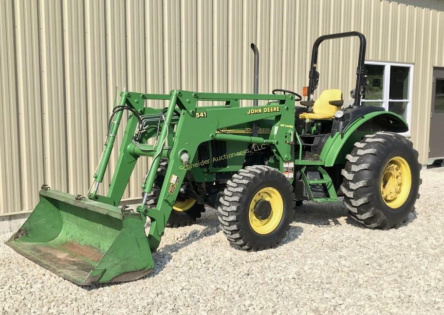 Fall Online Equipment Auction