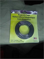 Roll of magnetic tape unopened