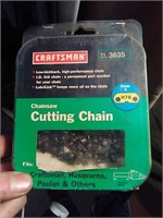 "New Craftsman cutting chain #H78 20""."