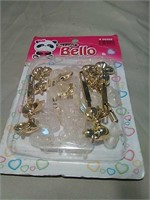 Kids play barrettes by Bello collection