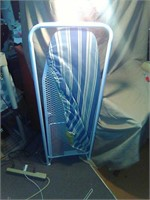 Door hanging foldout iron board