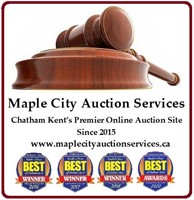 October 18 to October 21 Online Auction
