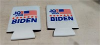 2  Joe Biden Can Coozies Printed on Both Sides