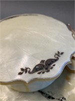 French Ivory and Mother of Pearl Dresser Set