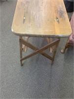 Primitive Pine Folding Ironing Board