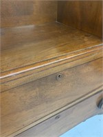 Unusual Antique 4 Drawer Dresser