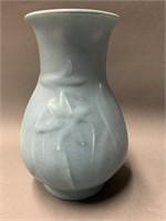Blue 7Ó Tall Rookwood Vase Ð Marked