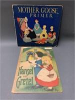 2 ChildrenÕs books - Mother Goose Primer and Hanse