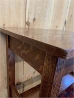 Oak Mortise and Tenon Table