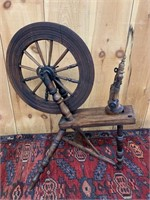 Primitive Spinning Wheel
