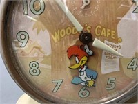 Woody Woodpecker alarm clock  - working