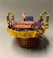 Cast Iron Horserace Mechanical Bank