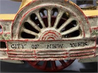 Cast Iron New York steamboat