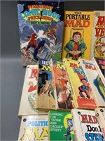 Grouping of Early Mad Comic Books