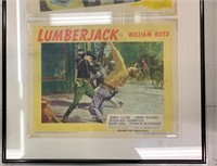 Framed 1940's Movie Posters