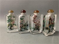 Reverse Hand Painted Snuff Bottles