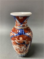 Old Imari vase and Footed Dish