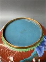 Two Cloisonne Bowls