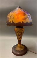 Vintage Galle Style Table Lamp