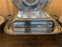 Large Lot of Silver Plate Pieces