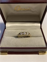 Ladies 14Kt Yellow Gold and Gemstone Ring