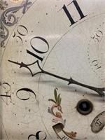 Early 19th Century Oak Tall Case Clock