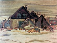 A.Y.Jackson Master Edition Winter Village