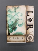 Set of 4 Exceptional SID DICKENS Tiles