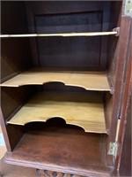 Art Nouveau Antique Music Cabinet