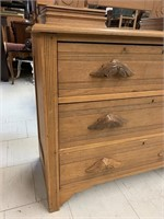 Eastlake Dresser with Swivel Mirror and Glove Boxe