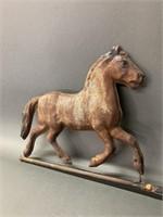 Very Early Horse Weathervane Folk Art