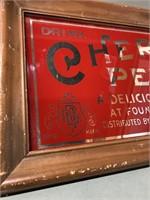 Merchants Cherry Pepsin Advertising Mirror